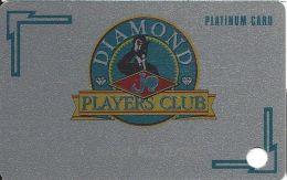 Diamond Jo Casino Dubuque, IA - 4th Slot Card - Platinum Level BLANK - Casino Cards