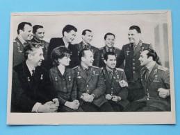 """"""" RUSSIAN COSMONAUTS """" Anno 1966 ( Zie Foto Voor Details ) ! - Russie"""