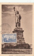 CARTE MAXIMUM YT 426 STATUE DE LA LIBERTE 18/4/1939 PARIS                                     TDA105 - Cartoline Maximum