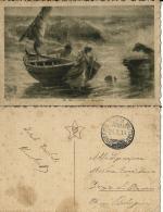 CARTOLINA  ILLUST POSTA MILITARE 22 DIVISIONE 1916 VERSA X SAN GIORGIO DI PIANO - Posta Militare (PM)