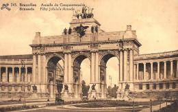 [DC2765] CPA - BELGIO - BRUXELLES - ARCADE DU CINQUANTENAIRE - Viaggiata - Old Postcard - Bruxelles (Città)