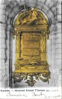 [DC2767] CPA - BELGIO - BRUXELLES - MONUMENT EVERARD T'SERCLAES - Viaggiata 1902 - Old Postcard - Monumenti, Edifici
