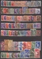 6858- Lotto Regno Usato – Circa 600 Euro Di Valore Di Catalogo Sassone - Sammlungen