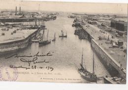 59 NORD - DUNKERQUE L'entrée Du Port - Dunkerque