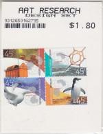 AAT 2002 Research 4v ** Mnh (in Unopened  Post Office Display) (29605) - Australian Antarctic Territory (AAT)