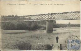 CPA De DALLET - Le Pont Métallique. - Francia