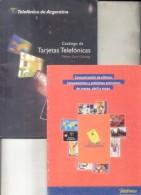 CATALOGO DE TARJETAS TELEFONICAS - TELEFONICA DE ARGENTINA  PHONE CARD CATALOG VOLUMEN I