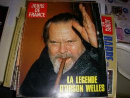 JOURS De FRANCE 1607 10.1985 ORSON WELLES MICHEL SARDOU FRISON ROCHE - Gente