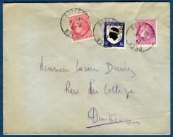 France, Enveloppe De Dunkerque Pour Dunkerque En 1947    Réf. 773 - Marcophilie (Lettres)