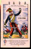 BVD1 Légion Française Des Combattants. Bara Enfant Célèbre 1779-1793 - Buvards, Protège-cahiers Illustrés