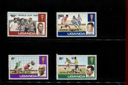 OEGANDA  POSTFRIS MINT NEVER HINGED POSTFRISCH EINDWANDFREI NEUF SANS CHARNIERE YVERT 156 157 158 159 - Ouganda (1962-...)
