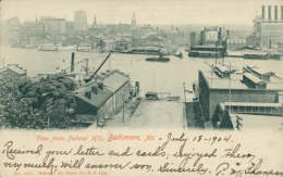 US BALTIMORE / View From Federal Hill / - Baltimore