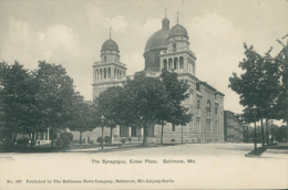 US BALTIMORE / The Synagogue, Eutaw Place / - Baltimore