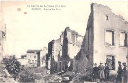 La Guerre En Lorraine 1914-1918 - NOMENY - Rue Du Bon-Puits - Nomeny
