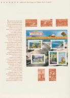 France 2006 Y&T BF 102 (3942 à 3951). Document Officiel. La France à Voir. Forêt, Volcans, Moulin Château Grotte Lourdes - Holidays & Tourism