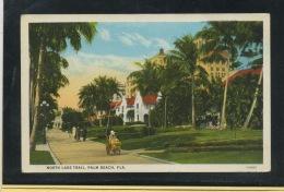 CPA - USA - PALM BEACH - NORTH LAKE TRAIL - Palm Beach