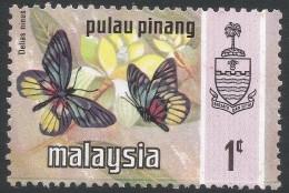 Penang (Malaysia). 1971 Butterflies. 1c MH. SG 82 - Malaysia (1964-...)