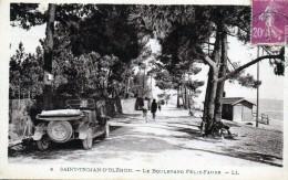 17 Ile D´Oléron Saint-Trojan- D'Oléron Le Boulevard Félix-Faure - Ile D'Oléron