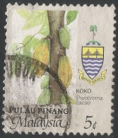 Penang (Malaysia). 1986 Agricultural Products. 5c Used. SG 102 - Malaysia (1964-...)