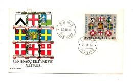 Fb699 - REPUBBLICA 1966 ,  SENZA  Timbro D'arrivo . A.F. ROMA .  INDIPENDENZA - 6. 1946-.. Repubblica
