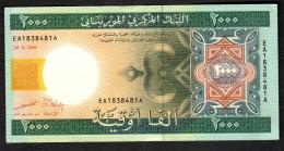 MAURITANIA   : Banconota 2000 Ouguiya - P20a - 2004 - XF/AUNC - Mauritania