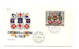 Fb702 - REPUBBLICA 1966 ,  SENZA  Timbro D'arrivo . A.F. ROMA .  INDIPENDENZA - 6. 1946-.. Repubblica