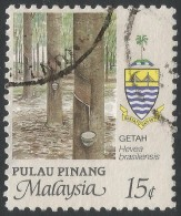 Penang (Malaysia). 1986 Agricultural Products. 15c Used. SG 104 - Malaysia (1964-...)