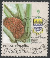 Penang (Malaysia). 1986 Agricultural Products. 20c Used. SG 105 - Malaysia (1964-...)