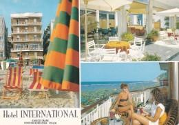 PESARO URBINO - Gabicce Mare - Hotel International - Via V.Veneto - 3 Vedute - Pin Up - 1994 - Pesaro