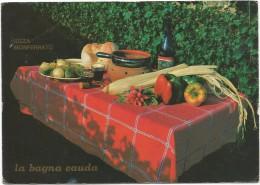 O3498 Nizza Monferrato (Asti) - Tempo Di Vendemmia - La Bagna Cauda / Non Viaggiata - Ricette Di Cucina