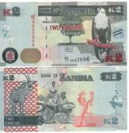 ZAMBIA   2 KWACHA    P56    2015   UNC - Zambia