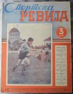 SPORTSKA REVIJA  BR. 50, 1941, KRALJEVINA JUGOSLAVIJA, NOGOMET, FOOTBALL - Livres