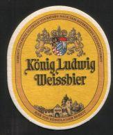 BIERDECKEL / BEER MAT / SOUS-BOCK : König Ludwig Weissbier - Bierdeckel