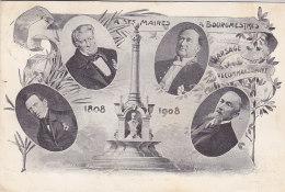 Warsage - A Ses Maires Bourgmestres 1808-1908 (1909) - Dalhem