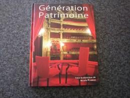 GENERATION PATRIMOINE Avec DVD Plumier Nicole Régionalisme Wallonie Architecture Château - Bélgica