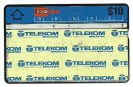 Malaysia - Tessera Telefonica Da 10 Dollars T28 - Kadfon, - Malesia