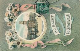 08/CHARLEVILLE - Un Baiser De Charleville (COULEUR) La Place Ducale, Hôtel De Ville - Charleville