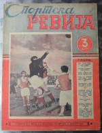 SPORTSKA REVIJA  BR.2, 1940  KRALJEVINA JUGOSLAVIJA, NOGOMET, FOOTBALL - Livres