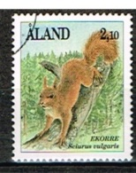 ALAND /Oblitérés/Used/1991 - Mammifères - Aland
