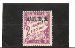 TIMBRES TAXE  N° 10 *  Charnière - Postage Due
