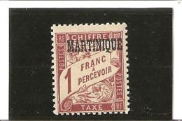 TIMBRES TAXE  N° 9 *  Charnière - Postage Due