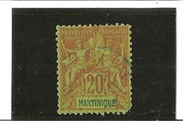 TIMBRES DES COLONIES FRANCAISES DE  1892  N° 37 Oblitéré - Gebraucht