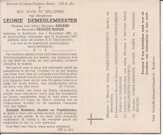 Leonie Demeulemeester (1865-1947) - Devotion Images