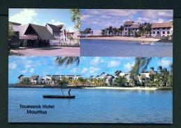 MAURITIUS  -  Touessrok Hotel  Unused Postcard - Mauritius