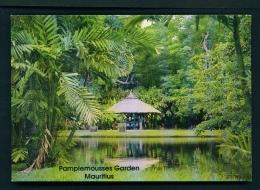 MAURITIUS  -  Pamplemousses Garden  Unused Postcard - Mauritius