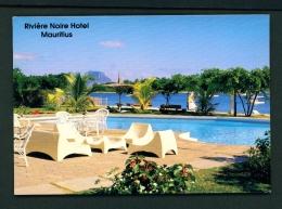 MAURITIUS  -  Riviere Noire Hotel  Unused Postcard - Mauritius