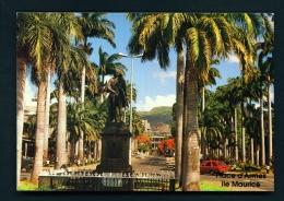 MAURITIUS  -  Port Louis  Place D'Armes  Unused Postcard - Mauritius