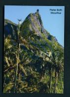 MAURITIUS  -  Pieter Both  Unused Postcard - Mauritius