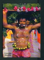 MAURITIUS  -  Cavadee Festival  Unused Postcard - Mauritius