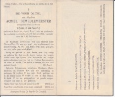 Achiel Demeulemeester (1863-1944) - Devotion Images